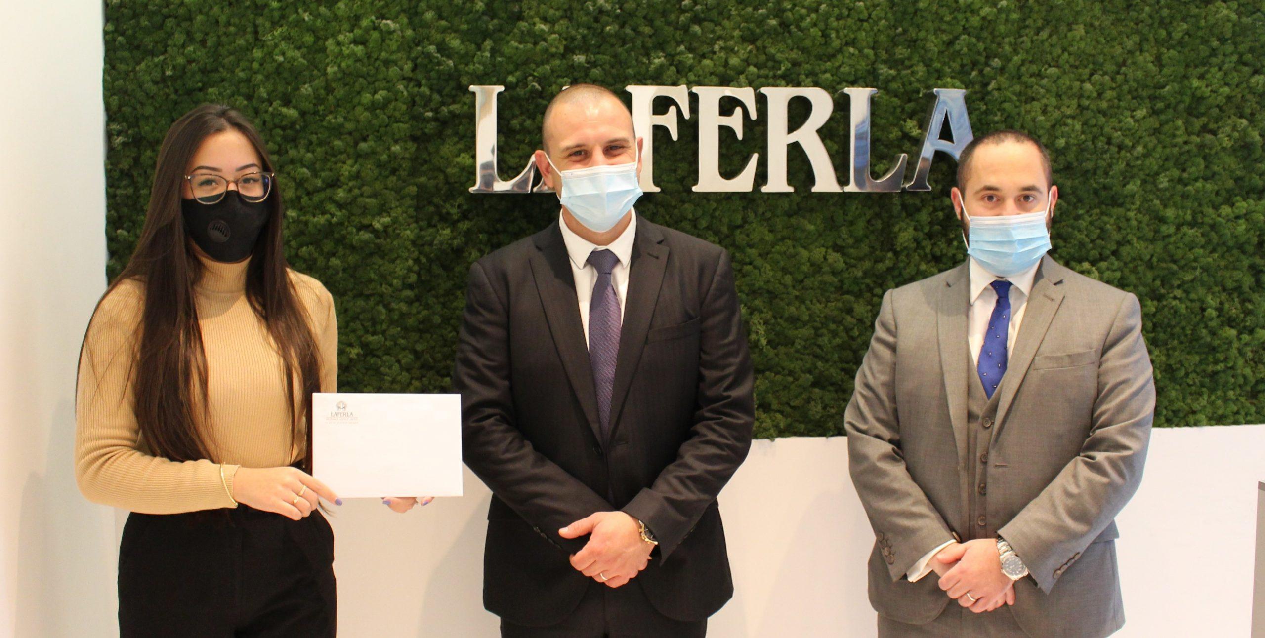 Laferla Staff and Directors Donate €1,000