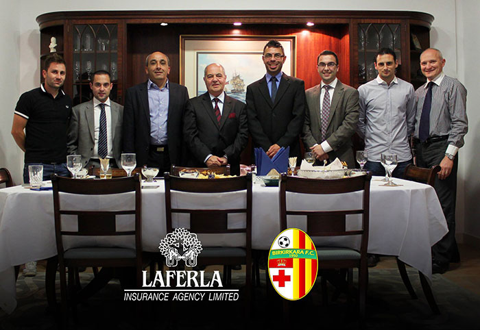 Laferla Insurance Agency congratulate Birkirkara FC on league title