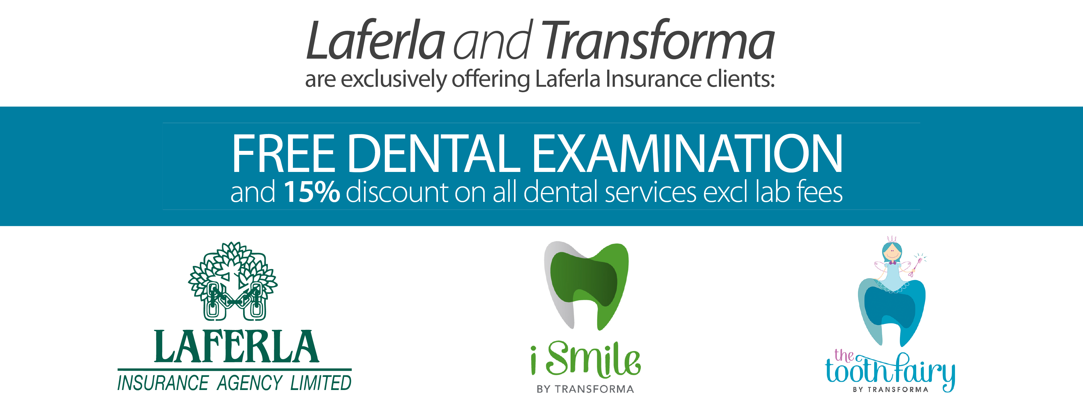 New Offer to Laferla Insurance Clients
