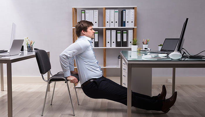 Working Out at Work: Exercises to Try at Your Desk
